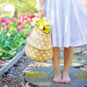 Barefoot Basket Blooming Blossoming 413707