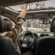 Photo Of Woman Driving Car 1051071