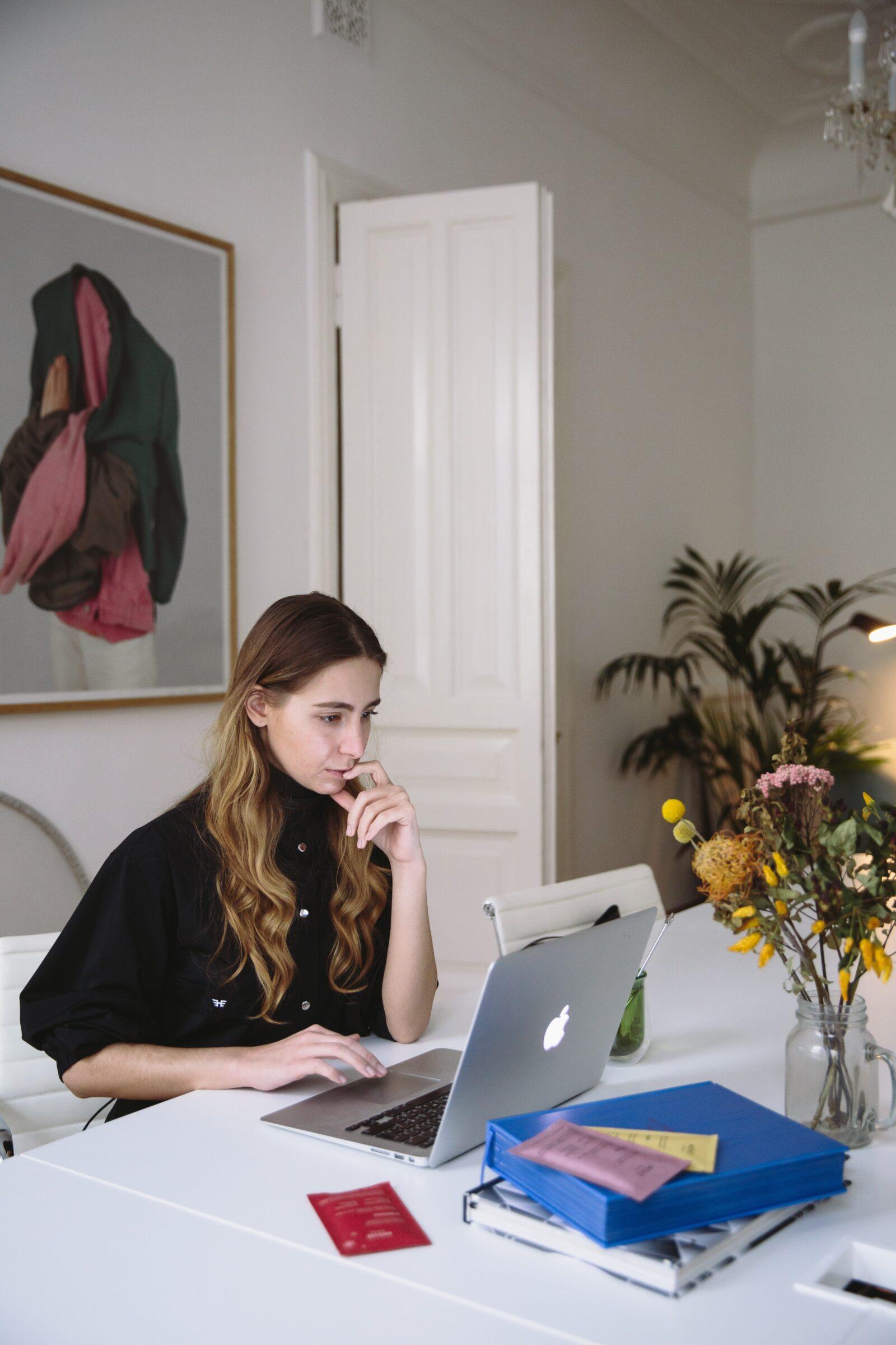 Photo Of Woman Using Laptop 3747446